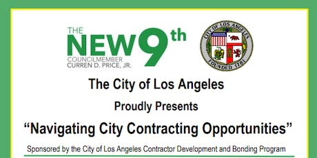 Navigating City Contracting Opportunities with Councilmember Curren Price tickets