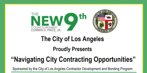 Navigating City Contracting Opportunities with Councilmember Curren Price