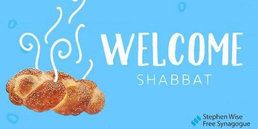Welcome, Welcome Back Shabbat Oneg