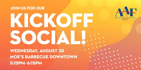 AAF Mobile Bay September Kickoff Social tickets