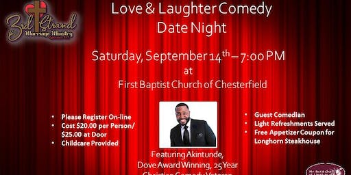 Love & Laughter Comedy Date Night