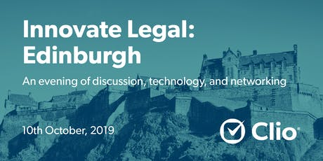 Innovate Legal: Edinburgh tickets