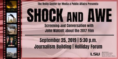 Screening: Shock & Awe tickets