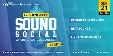 Sound Social: Los Angeles - Where Creatives Connect tickets