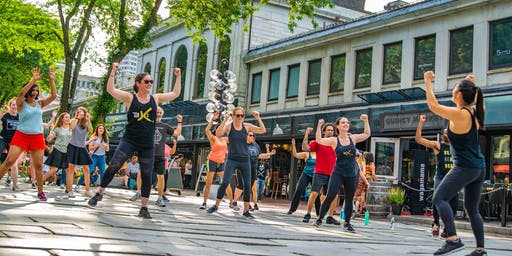 FREE BollyX Outdoor Class - Cambridge Public Library