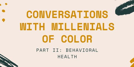 Conversations with Millennials of Color tickets