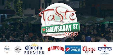 The Taste of Shrewsbury Street Fall Edition tickets