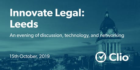 Innovate Legal: Leeds tickets