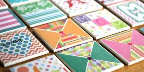 Mod Podge Tiles tickets