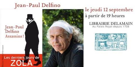 Littérature: Jean-Paul Delfino billets