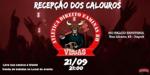 Recepção dos CALOUROS Direito Faminas BH