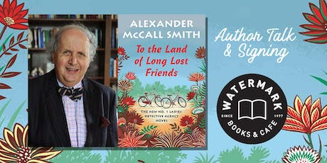 No. 1 Ladies' Detective Agency Author Alexander McCall Smith tickets
