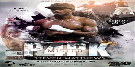 """Mister P4PK Showdown """"The Fight Continues"""" tickets"""