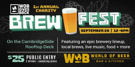 WOB Gives Back Charity Brewfest tickets