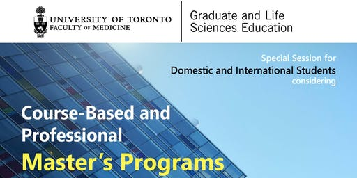 Special Session for Domestic and International Students Considering Course-Based and Professional Master's Programs