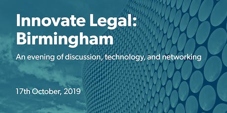 Innovate Legal: Birmingham tickets