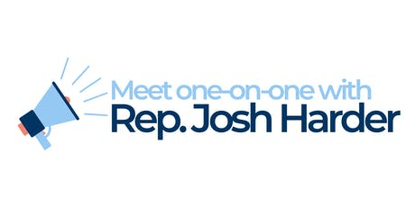 One on One Meetings with Rep. Harder tickets