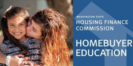 WSHFC Homebuyer Education Seminar - SEATTLE, Dec 7th tickets