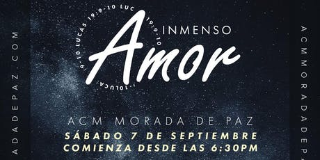 Inmenso Amor - Día de la Visita boletos