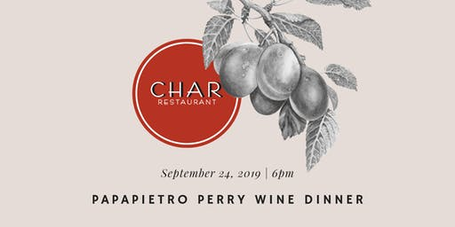 Papapietro Perry Wine Dinner