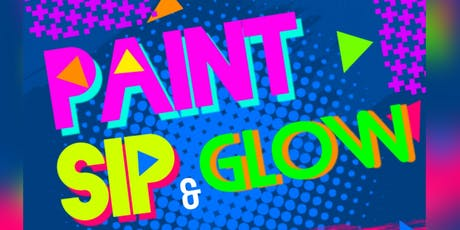 Paint & Sip with a Neon Twist tickets