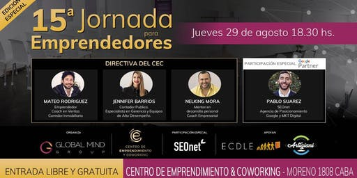 15° Jornada para emprendedores