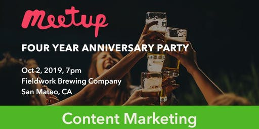 Celebrate Four Years of Bay Area Content Marketing Meetups