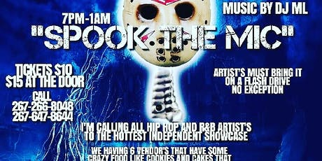 SPOOK THE MIC/OPEN MIC SHOWCASE tickets