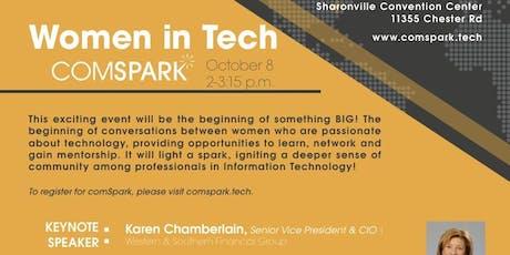 Women in Tech - ComSpark 2019 tickets