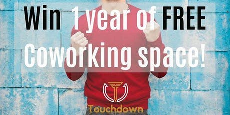 WIN 1 YEAR OF FREE COWORKING SPACE ACCESS  @ TOUCHDOWN COWORKING OAKVILLE tickets