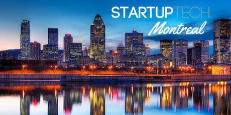 StartupTech MTL: Founders Talk Aug 2019 tickets