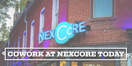 Cowork at NexCore Today tickets