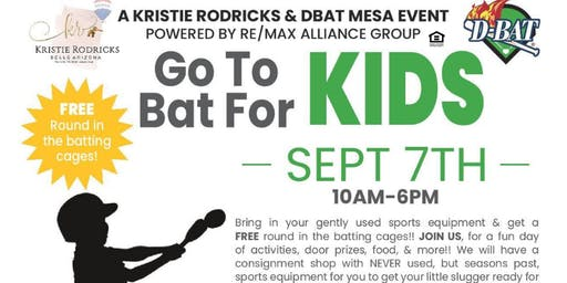 Go To Bat For Kids