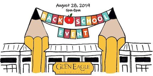 Back 2 School Kick-Off Event at Glen Eagle Square