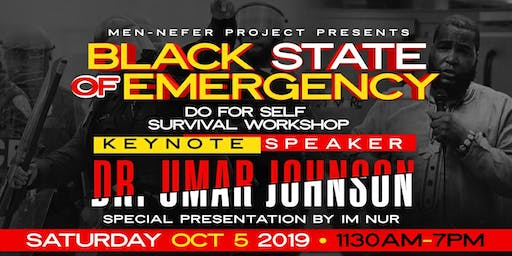 Black State Of Emergency Survival Workshop