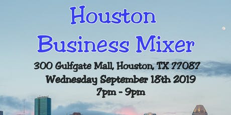 Houston Business Mixer tickets