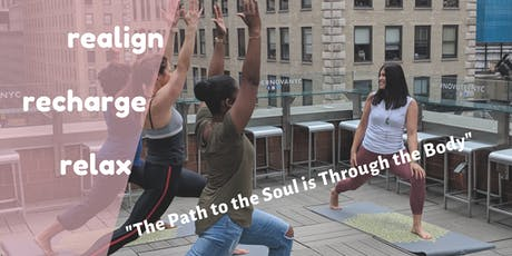 Sunrise Rooftop Yoga Summer Series - Time Square  tickets
