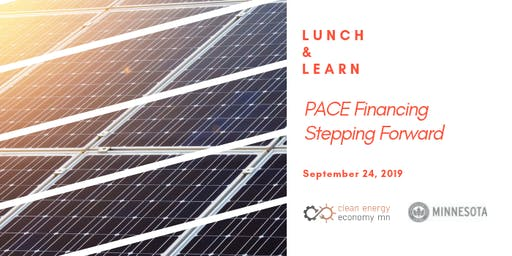 Lunch and Learn: PACE Financing - Stepping Forward