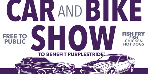 Car and Bike Show Benefiting PurpleStride