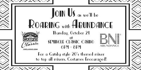 Roaring with Abundance tickets