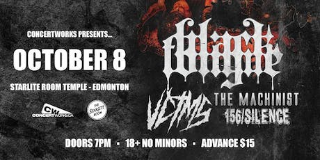 Black Tongue with VCTMS, The Machinist & 156 Silence tickets