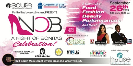""" A Night of Bonitas"" 3rd Annual InSouth Magazine Celebration 2019 tickets"