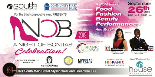 """ A Night of Bonitas"" 3rd Annual InSouth Magazine Celebration 2019"