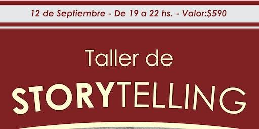 TALLER DE STORYTELLING
