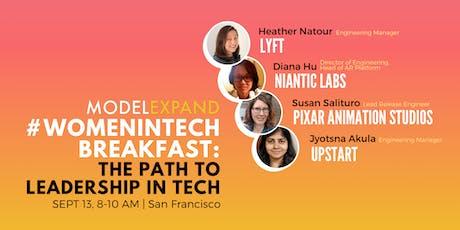 #WomeninTech Breakfast: The Path to Leadership in Tech tickets
