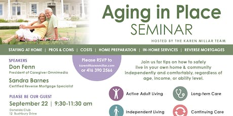 Aging in Place Seminar tickets