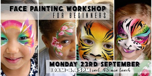 Face Painting Workshop Brighton - Learn to Face Paint!