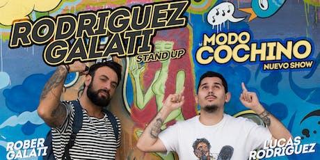Rodriguez Galati - MODO COCHINO - Santa Fé (20 de Septiembre, 21:30hs) entradas