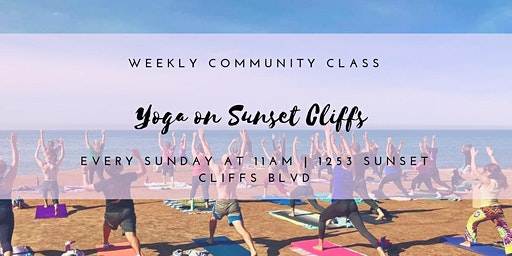 Sunday Morning Yoga on the Cliffs 11am