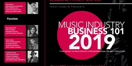 Music Industry Business 101 tickets